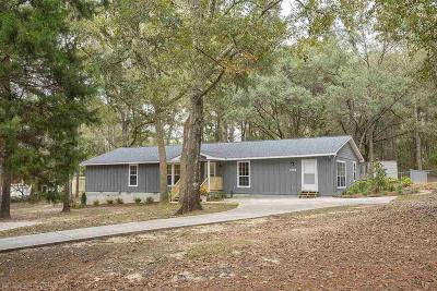 Silverhill Single Family Home For Sale: 22316 Toler Road