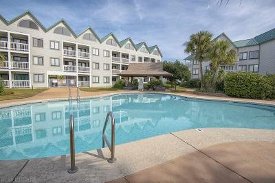 Gulf Shores Condo/Townhouse For Sale: 497 Plantation Road #1147