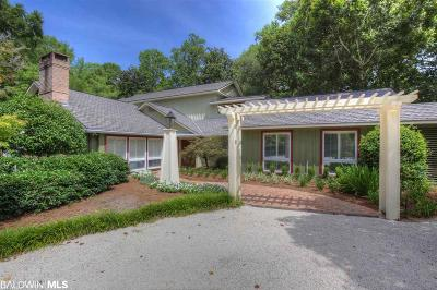 Fairhope AL Single Family Home For Sale: $998,900
