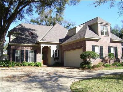 Mobile County Single Family Home For Sale: 308 Wacker Ln