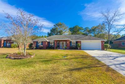 Summerdale Single Family Home For Sale: 16912 Hammel Dr