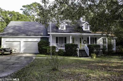Foley Single Family Home For Sale: 7228 Fairmont Drive