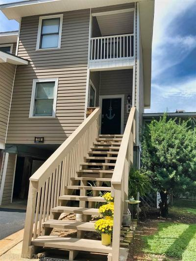 Daphne Condo/Townhouse For Sale: 6 Yacht Club Drive #118