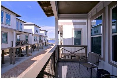 Gulf Shores Single Family Home For Sale: 1796 W Beach Blvd #L