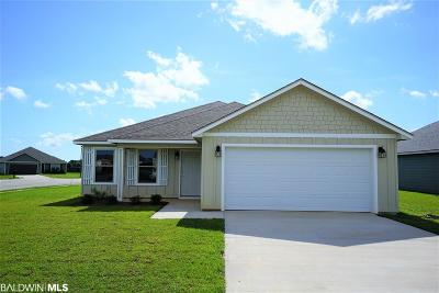 Summerdale Single Family Home For Sale: 272 Lakefront Circle