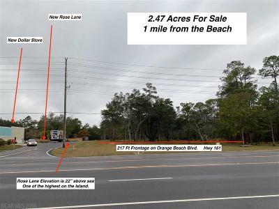 Orange Beach Residential Lots & Land For Sale: 4161 Orange Beach Blvd
