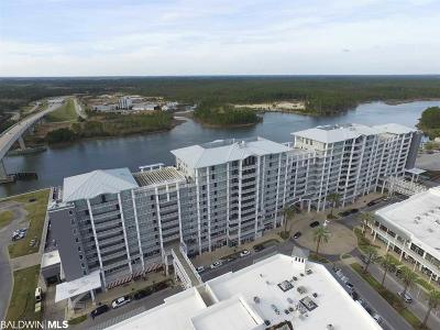 Orange Beach Condo/Townhouse For Sale: 4851 Wharf Pkwy #619