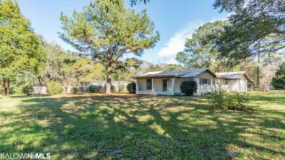 Fairhope Single Family Home For Sale: 19212 Gunnison Road