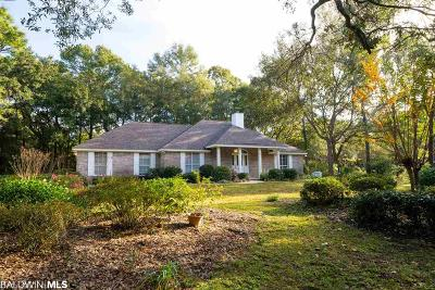Magnolia Springs Single Family Home For Sale: 11806 Village Green Dr