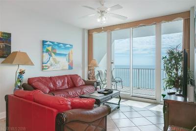 Baldwin County Condo/Townhouse For Sale: 455 E Beach Blvd #1110