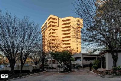 Daphne Condo/Townhouse For Sale: 100 Tower Drive #701