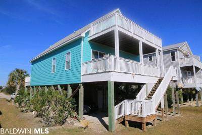 Gulf Shores Single Family Home For Sale: 1267 W Lagoon Avenue