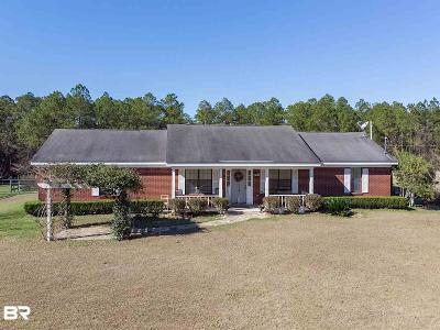 Robertsdale Single Family Home For Sale: 21897 Palomino Circle