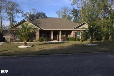 Foley Single Family Home For Sale: 1087 Melbourne Ct
