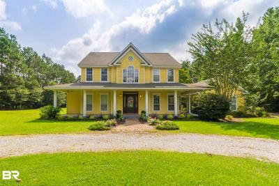 Baldwin County Single Family Home For Sale: 12850 Bender Road