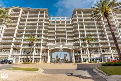 Orange Beach Condo/Townhouse For Sale: 4851 Wharf Pkwy #415