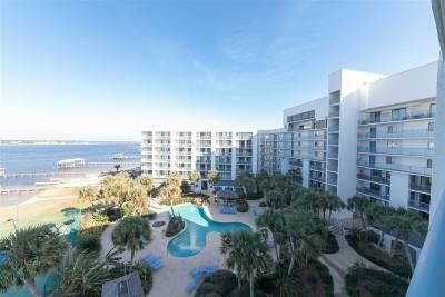 Gulf Shores Condo/Townhouse For Sale: 1832 W Beach Blvd #603-B