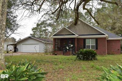 Mobile County Single Family Home For Sale: 9221 Old Wulff Road
