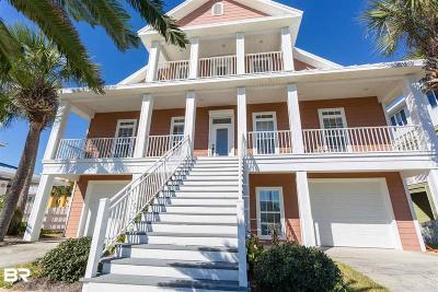 Perdido Key Single Family Home For Sale: 436 Gulfview Ln