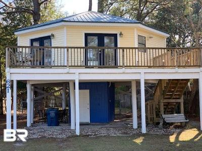 Gulf Shores Single Family Home For Sale: 621 E Canal Drive