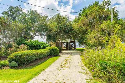 Fairhope Single Family Home For Sale: 11619 County Road 1
