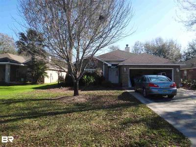Gulf Shores Single Family Home For Sale: 7198 Raintree Ln