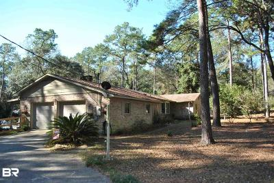 Fairhope Single Family Home For Sale: 10736 Pecan Drive