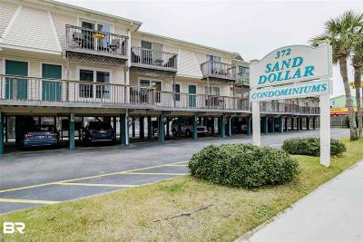 Gulf Shores Condo/Townhouse For Sale: 372 E Beach Blvd #4