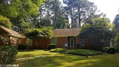 Fairhope Single Family Home For Sale: 674 Colonial Dr