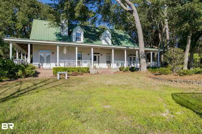 Fairhope Single Family Home For Sale: 17095 Section Street