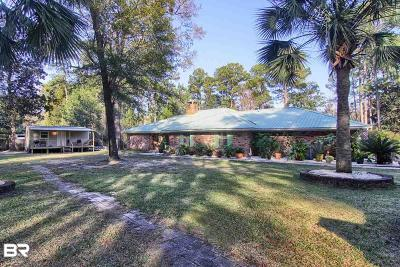 Gulf Shores, Orange Beach Single Family Home For Sale: 18947 Boonie Lane