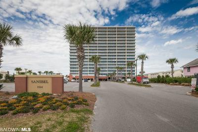 Gulf Shores, Orange Beach Condo/Townhouse For Sale: 1524 W Beach Blvd #201