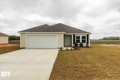 Summerdale Single Family Home For Sale: 207 Plantation Drive