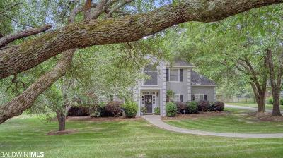 Mobile County Single Family Home For Sale: 8321 E Goldmine Oaks Drive