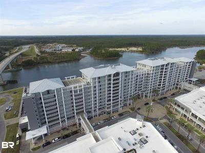 Orange Beach Condo/Townhouse For Sale: 4851 Wharf Pkwy #724