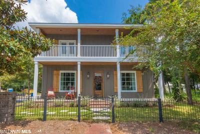 Gulf Shores, Orange Beach Single Family Home For Sale: 2713 Arcadia Street