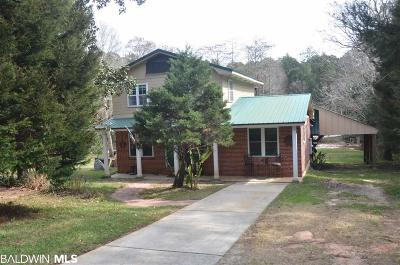 Fairhope Single Family Home For Sale: 18870 Highland Drive