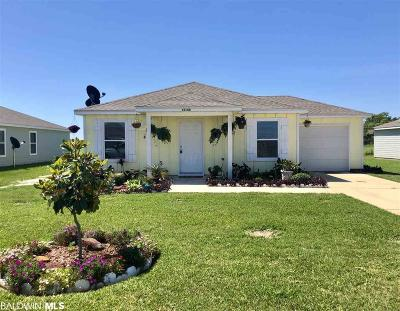 Foley Single Family Home For Sale: 15150 Marem Drive