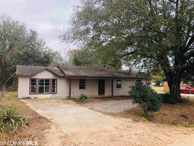 Foley Single Family Home For Sale: 21183 E Bullard Avenue