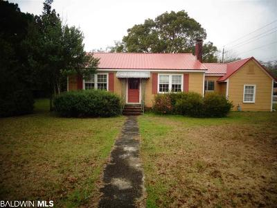 Foley Single Family Home For Sale: 915 Alston Street