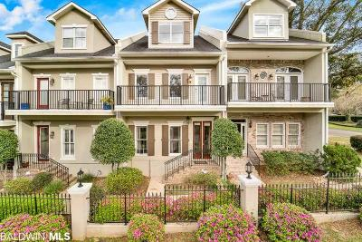Daphne, Fairhope, Spanish Fort Condo/Townhouse For Sale: 101 Fairhope Court #17