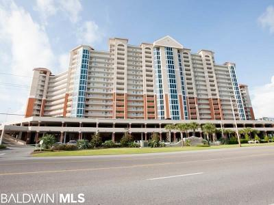 Gulf Shores Condo/Townhouse For Sale: 455 E Beach Blvd # 1504