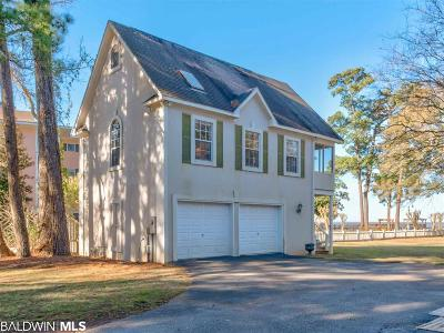 Fairhope Single Family Home For Sale: 18139 Scenic Highway 98