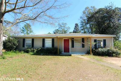 Mobile County Single Family Home For Sale: 763 Kasserine Pass