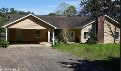 Elberta Single Family Home For Sale: 11334 County Road 83