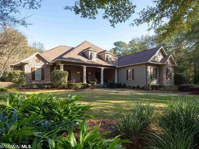 Fairhope Single Family Home For Sale: 208 Shady Lane