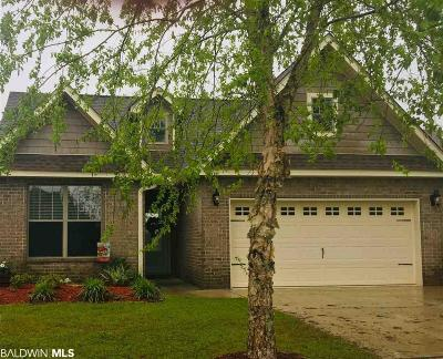 Foley Single Family Home For Sale: 1078 Crown Walk Drive