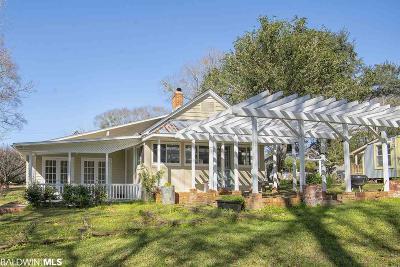 Fairhope Single Family Home For Sale: 662 Fairhope Avenue