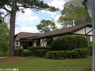 Daphne Single Family Home For Sale: 201 Bay View Drive