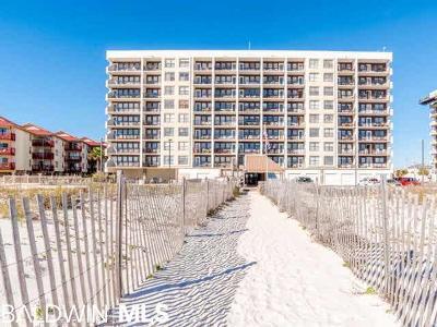 Gulf Shores Condo/Townhouse For Sale: 407 W Beach Blvd #G-16